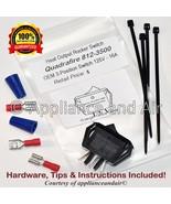 Quadra-Fire 812-3500 Heat Output Rocker Switch, 3-Way + Hardware & Instr... - $39.95