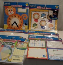 ARTSKILLS NEW LEARNING CHARTS Time, Creative Thinking, Writing, Games, S... - $18.66