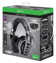 NEW Plantronics Xbox One & Windows Pro Series RIG 400LX Gaming Headset W... - $89.99