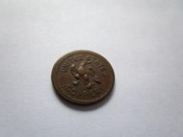 American Civil War Patriotic Token 202 434 United States Copper w Eagle ... - $43.87