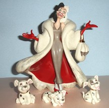Lenox Disney Cruella DeVil Hand Painted Figurin... - $287.90