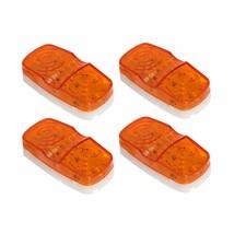 4pcs 10 Diodes Trailer Marker LED Light Double Bullseye Clearance Lamps ... - $9.89