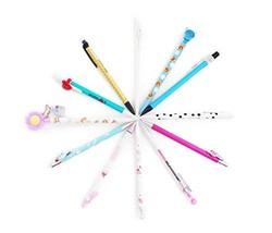 SKKSTATIONERY 12 PCS Mechanical Pencils Set, Cute Cartoon Favor, 12 Diff... - $8.82