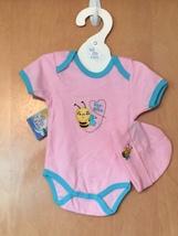 Little Bee Onesie & Hat Set 0-6 Months - $15.00