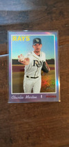 2019 TOPPS HERITAGE HIGH HOT BOX CHROME PURPLE REFRACTOR CHARLIE MORTON ... - $7.99