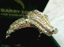 Barry Kieselstein-Cord.Vintage 925/18k Gold Alligator Ring Size 12 w BKC... - $585.95