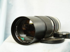 Canon 100-300MM FD Fit Hoya Zoom Macro Lens - Great Bokeh- A1 AE1 AE1P F... - $35.00