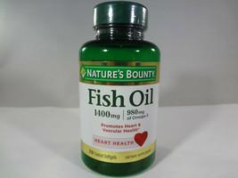 Nature's Bounty Fish Oil - 1400mg Heart Health - 39 Coated Softgels [VS-N] - $11.06