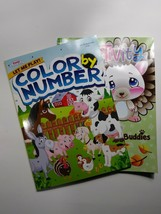 KAPPA COLOR BY NUMBER COLORTIVITY BOOK. COLORING ACTIVITY BOOKS NEW - $12.38