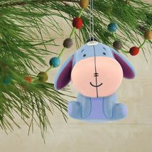 Hallmark Disney Winnie the Pooh Eeyore Decoupage Shatterproof Christmas Ornament image 3