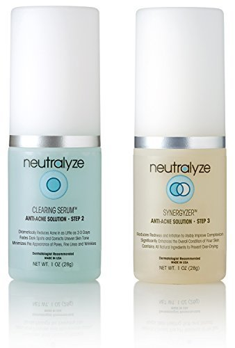 Neutralyze Moderate To Severe Acne Clearing Serum & Synergyzer 30 Day - Maximum