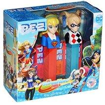 Pez DC Superhero Girls Gift Set - Supergirl and Harley Quinn (1 Gift Set) - $11.87
