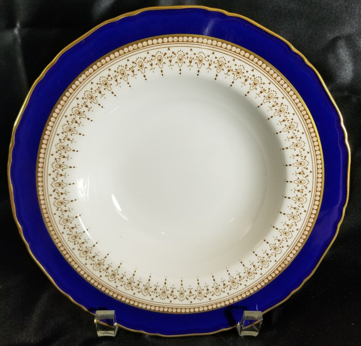"Royal Worcester REGENCY Blue 8"" Rimmed Soup Bowl (multiple available)"