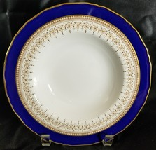 "Royal Worcester REGENCY Blue 8"" Rimmed Soup Bowl (multiple available) - $88.83"