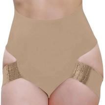 NEW WOMEN'S FULLNESS BUTT LIFTER TUMMY CONTROL SHAPER PANTY BEIGE #8011 image 2