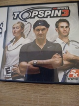 Nintendo DS TopSpin 3 image 1