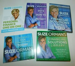 Brand New Suze Orman Financial Solutions Power Pack! DVD, CD's & Book Br... - $59.99