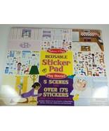 Melissa & Doug Reusable Sticker Pad Play House! #4197 - $14.24