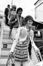 The Beatles John Lennon Paul McCartney Jane Asher Heathrow BEA 1967 18x2... - $23.99
