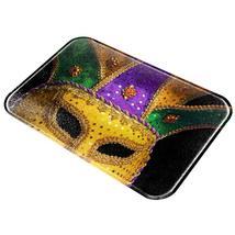 Mardi Gras Mask All Over Glass Cutting Board - $36.00