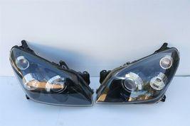 08-09 Saturn Astra Headlight Head Light Lamps SET L&R =>POLISHED image 6