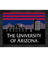 The University of Arizona Wildcats 13x16 Uscape with Retro Skyline Frame... - $39.95