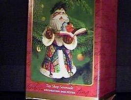 QX8301 Toy Shop Serenade Santa 2000 Hallmark Keepsake Ornament - $7.87