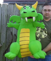 MADE TO ORDER: Professional Dragon Extra Large Muppet Style Ventriloquis... - $150.00