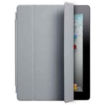 Apple Ipad 2 Smart Cover Leather Light Grey  MC947LL/A  EUC - $9.90