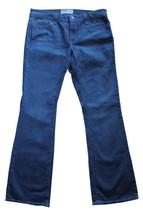 EARL JEAN 8 Mid Rise Boot Cut Stretch Medium Wash Whiskered Denim Jeans ... - $9.95