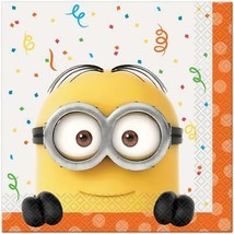 Despicable Me 3 Lunch Dinner Napkins 16 Ct Birthday Party Supplies by Un... - $3.94