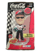 Coca-Cola NASCAR Bobby LaBonte Bobbing Head Limited Edition Numbered NOS - $32.18