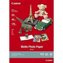 Canon A3 Matte Photo Paper 40 Shts - MP 101  - $45.00