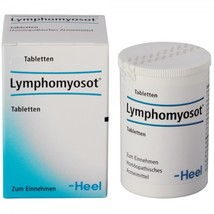 Lymphomyosot 50 homeopathic tablets used to treat lymphostasis be HEEL - $14.30