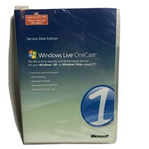 Microsoft Windows Live OneCare Vista & XP Service Desk Edition - NEW, SEALED - $12.86