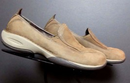 """Merrell """"Primo Moc II Coffee"""" Snuff Suede Leather Casual Loafer Sz. 7 EXCELLENT! - $35.63"""