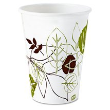 Dixie 58PATH Pathways Wax Treated Paper Cold Cups, 5oz, 2400/Carton - $97.97