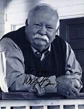 8 x10 Autographed Photo of Wilford Brimley (Sitting down, Reprint) - $6.99