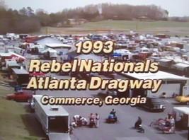 Motorcycle Drag Racing DVD 1993 PROSTAR REBEL NATIONALS Atlanta-Elmer Trett - $6.00