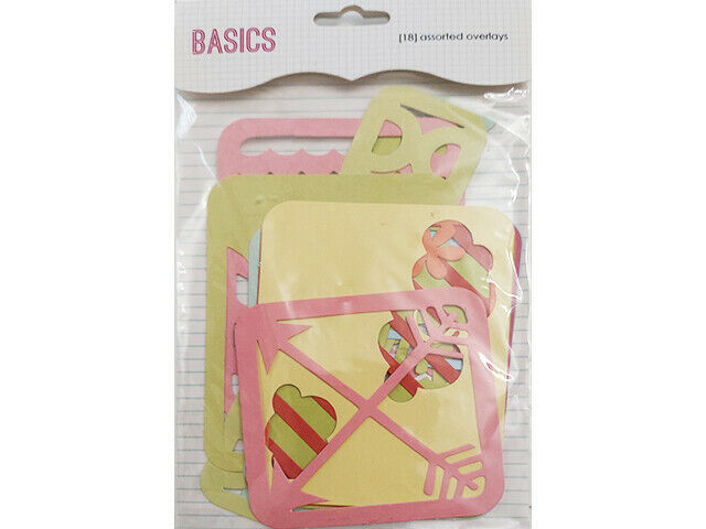 SEI Basics Die-Cut Overlays for Scrapbooks, Journals, Cards and More #1-0363