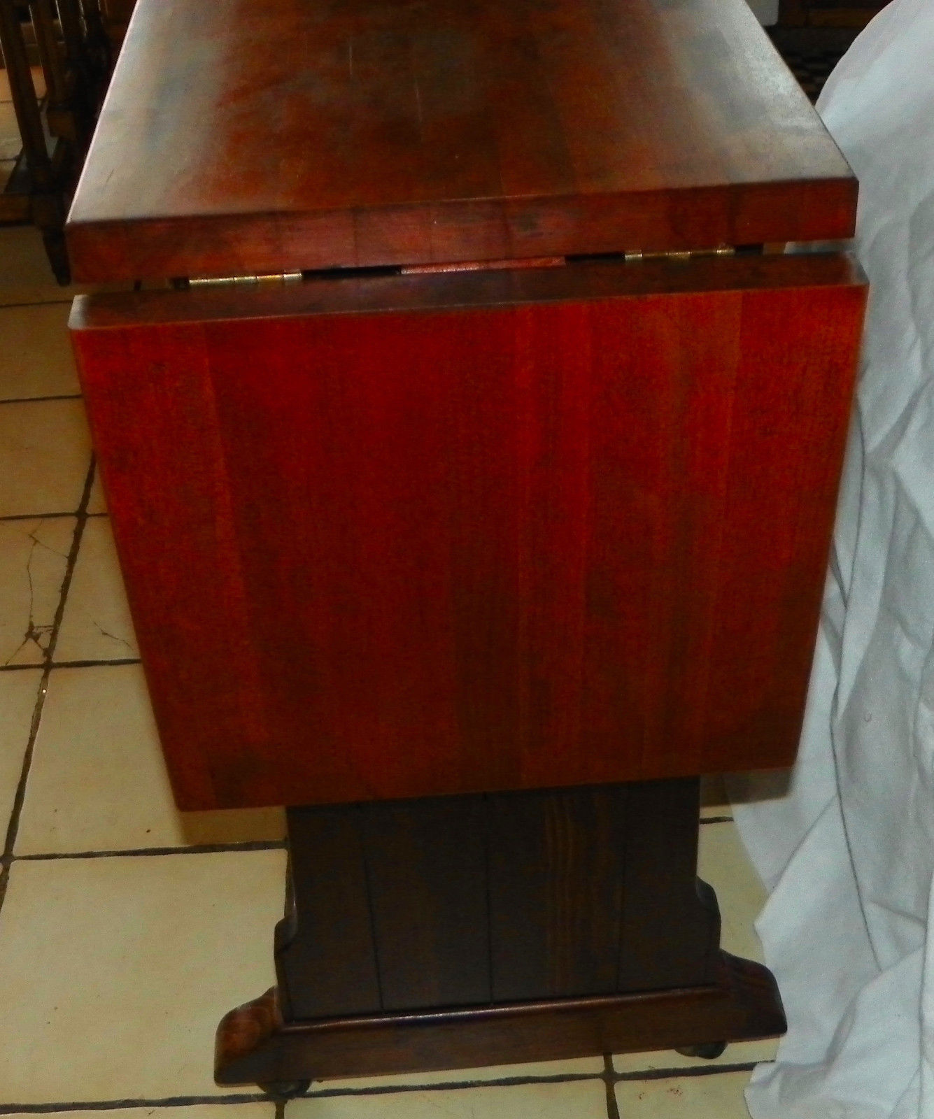 Pine & Cherry Old Tavern Wine Server / Table by Ethan Allen