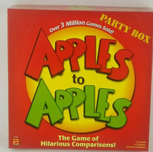 NEW card game APPLES TO APPLES Party Box Family 4 - 10 players  ages 12+  - $14.99