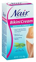 Nair Nair Sensitive Bikini Cream Hair Remover - 1.7 oz: 3 Units. image 7