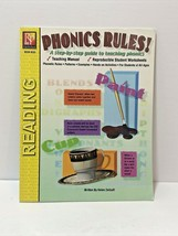 Reading Phonics Rules Garde 3 and up REM 850 Step by step guide with wor... - $10.99