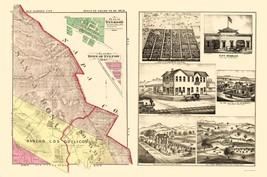 Sonoma Northeast County California - Thompson 1877 - 23.00 x 34.73 - $36.58+