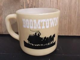 Boomtown Hotel Federal Glass Mug Casino Reno Nv Logo  - $9.89