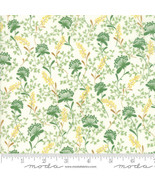 Moda WILDFLOWERS IX Linen 33385 11 By The Yard Quilt Fabric - $10.64