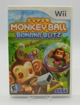 Super Monkey Ball: Banana Blitz (Nintendo Wii, 2006) Complete in Box Par... - $12.75