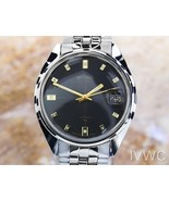 Mens Seiko Ref.7005 34mm Automatic w/Date Dress Watch, c.1970s Vintage S... - $541.80