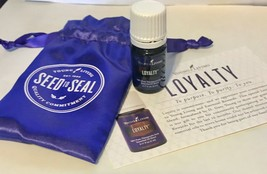 Young Living Loyalty Essential Oil 5ml Purple Drawstring Bag Product Car... - $17.77